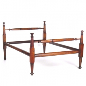 19th century sacking bottom rope bed