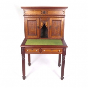 19th century Wells Fargo style secretary desk