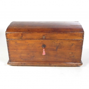 SOLD: 19th century pine sea chest