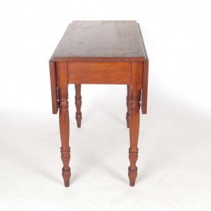 19th century cherry drop leaf table