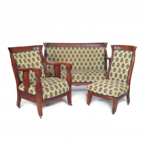 SOLD: 19th century Empire Parlor Set