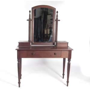 Antique walnut dressing table circa 1860s