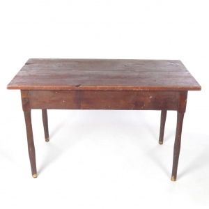 SOLD: 19th century primitive farm table
